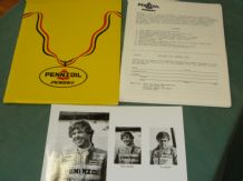 PENSKE INDYCAR PRESS KIT 1984 (3rd ed) R Mears.A Unser(B)